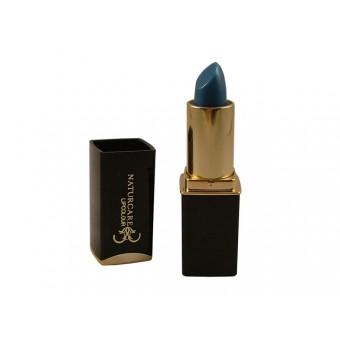 Lipcolour Blauw, kleurt van blauw naar cyclaam